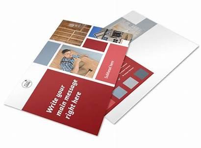 Remodeling Postcard Contractor Template Brochure Templates Mycreativeshop