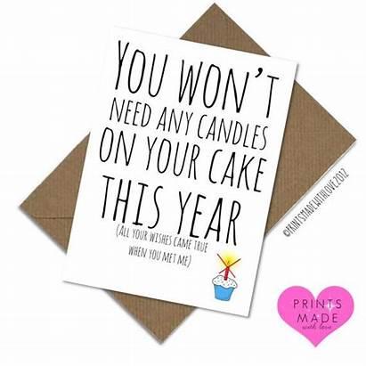 Birthday Cards Boyfriend Funny Husband Card Girlfriend