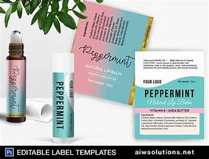 lip balm label template choice image template design ideas With avery labels for lip balm tubes