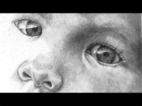 graphite portrait drawing youtube