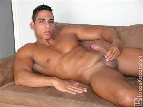 brazilian beef luigi hung horny hot jock jerking massive cock naked big dick men
