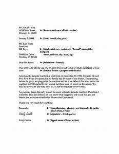 35, Formal, Business, Letter, Format, Templates, U0026, Examples, U1405