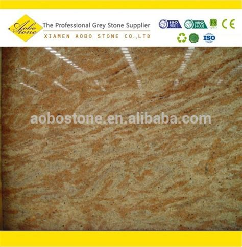 standard size polished india madura gold granite slab