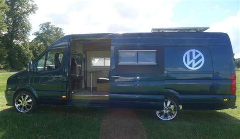 Vw Crafter Xlwb Camper Van Conversion Race Van Motorhome