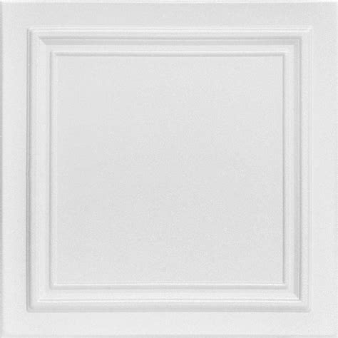 styrofoam ceiling panels home depot a la maison ceilings line 1 6 ft x 1 6 ft foam glue