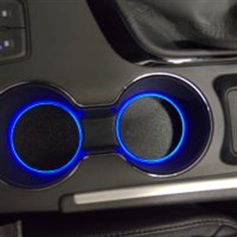 accentglowled hyundai sonata   center console custom led cup holder lights
