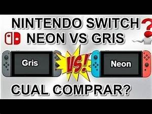 Nintendo Switch Gris VS Neon parativa ngelou