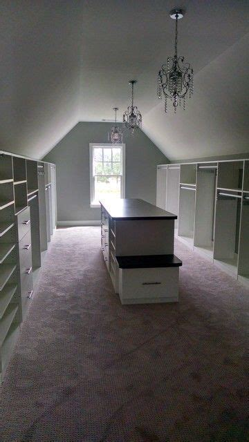 closets  sloped ceilings attic renovation closet