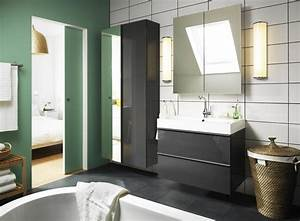 ensuite bathroom design ideas With salle de bain design avec ikea vasque
