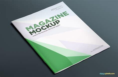 Magazine Cover Page Template Psd by 17 Magazine Mockup Psds Zippypixels