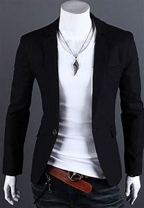New Mens One Button Casual Slim Fit Stylish Suit Blazer ...