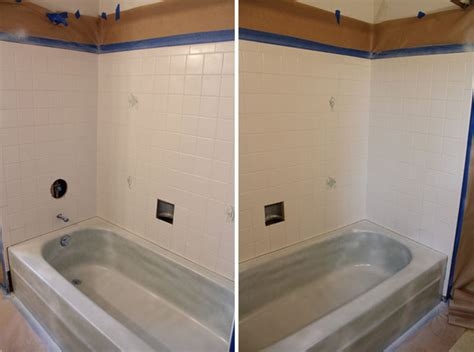 rustoleum tub and tile to spray or not to spray a bathtub that is the