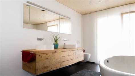 Badezimmermöbel Holz Ideen  Design Ideen