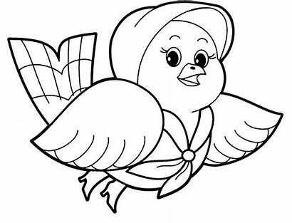 Coloring Animal Pages Pigeon Pretty