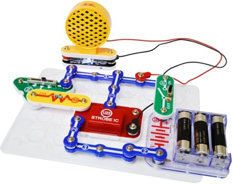 Snap Circuits Light by Snap Circuits Strobe Light And Sound Kool Child