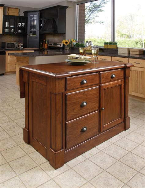 home styles kitchen island with breakfast bar kitchen island marvellous kitchen islands home depot home 9240