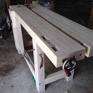 My new Split Top Roubo Bench and A Surprise from