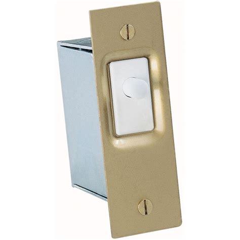 push button light switch home depot gardner bender 10 amp single pole ac dc push button door