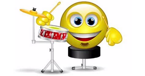 drummer animated smiley smiley drummers  smileys