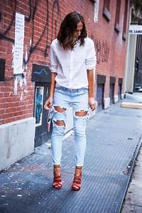 Light denim jeans White shirts and Light denim on Pinterest