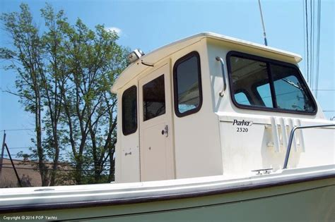 Linwood Parker Boats by 1996 Parker 230 Wheel House Photo 7