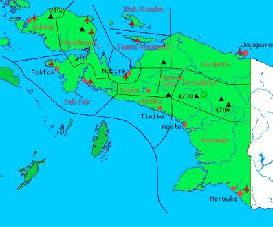 peta perekonomian daerah irian jaya niezmatul