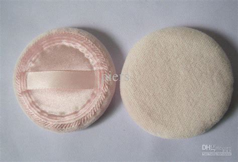pink velvet powder puff makeup powder puff with