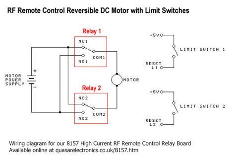 Motor Reversing Circuit Timer Remote Control
