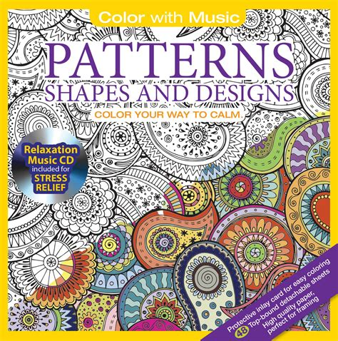 relaxation music cd coloring books color with music