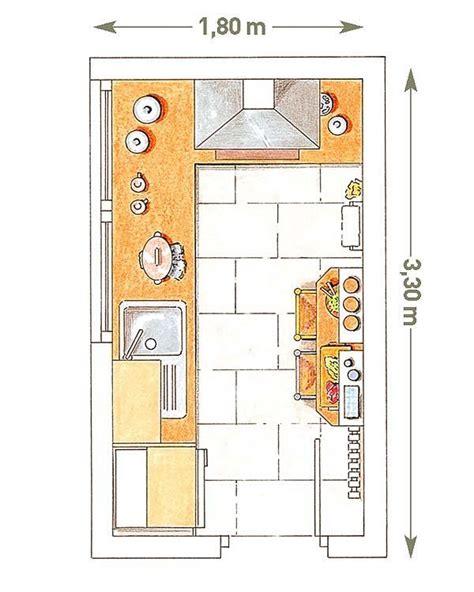 cocinas pequenas  planos diseno de casas dibujos