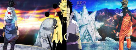 Naruto Vs Sasuke Final Battle Facebook Cover By