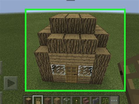 hut  minecraft  steps  pictures wikihow