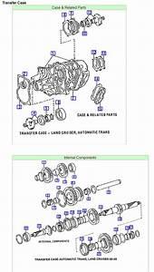 Diagram Of Toyota 4wd Transfer Case