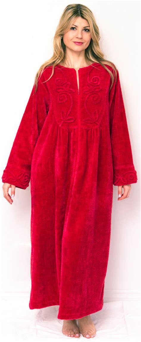 cotton chenille robes luxury bathrobes dressing gowns ebay