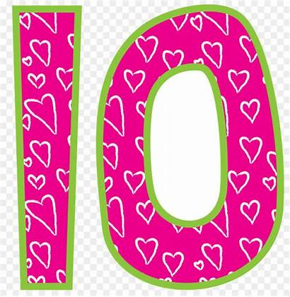 Number Clip Clipart Cliparts Valentine Library