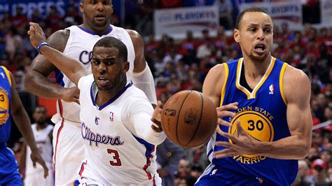nba playoffs  warriors  clippers final score