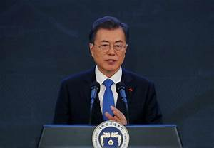 South Korea President Moon's approval rating drops on ...