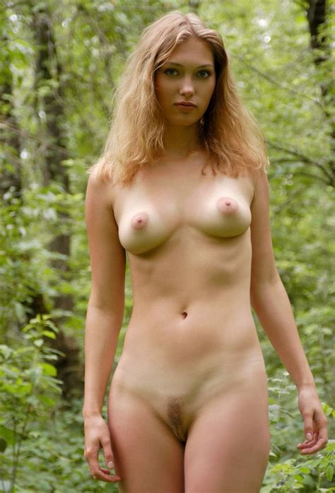 Strawberry Blonde Nude In The Woods Myconfinedspace Nsfw