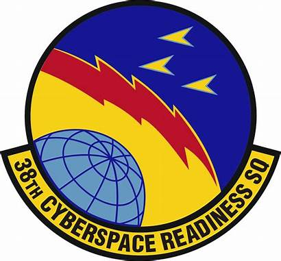 Squadron Cyberspace Readiness 38th Emblem Cyber Air