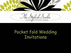pocket fold wedding invitations With pocket book wedding invitations