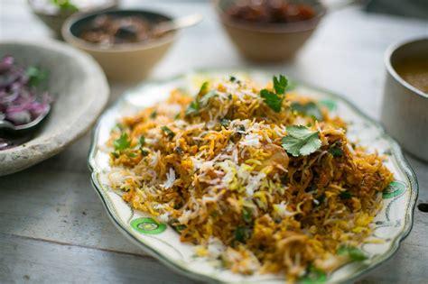 chicken biryani indian recipes maunika gowardhan