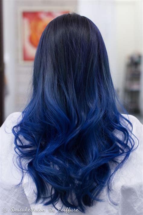 Best 25 Blue Hair Highlights Ideas On Pinterest Blue