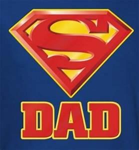 Superman T-Shirt - Super Dad Logo - NerdKungFu