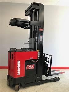 Ces  20594 Raymond Dr30tt Deep Reach Electric Forklift 252 U201d