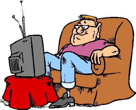 clipart clipart televisie animaatjes