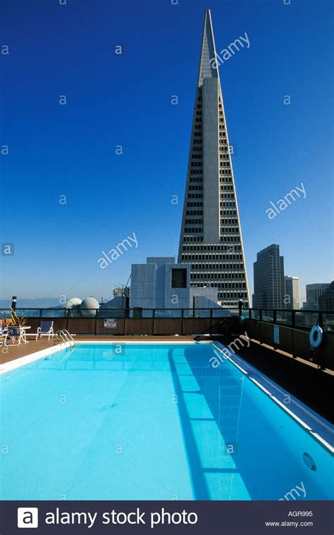 California, San Francisco, Rooftop Swimming Pool And