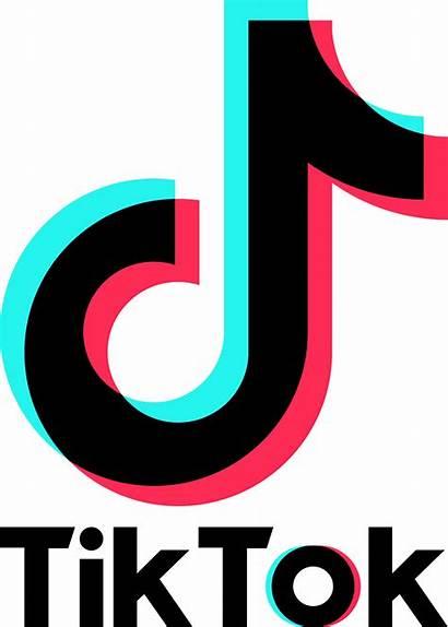 Tiktok Tic Clipart Logos Clip Tik Tok