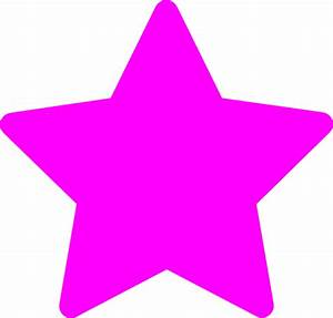 Star-pink Clip Art at Clker.com - vector clip art online ...