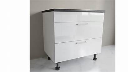 Sink Base Cabinet Drawers Wide Euro 900mm