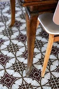Vinyl Sol Carreaux De Ciment : le sol vinyle imitation carreau de ciment les sols ~ Premium-room.com Idées de Décoration